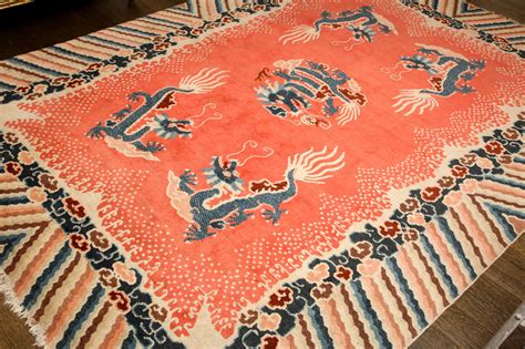 antique salmon colored carpet for sale at