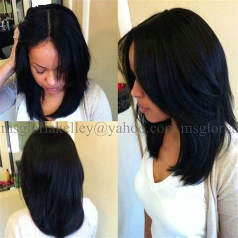vixen sew in with 12 14 and14 inches 1000 images about flawless hair curled styles weave on