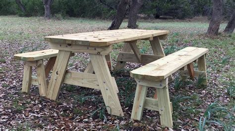 build  picnic table youtube