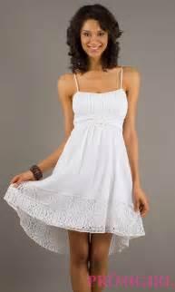 High low spaghetti strap dress high low summer dresses promgirl