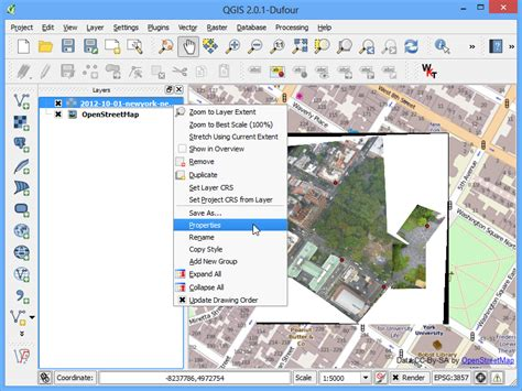 qgis tutorial georeferenziazione georeferenziare immagini aeree qgis tutorials and tips
