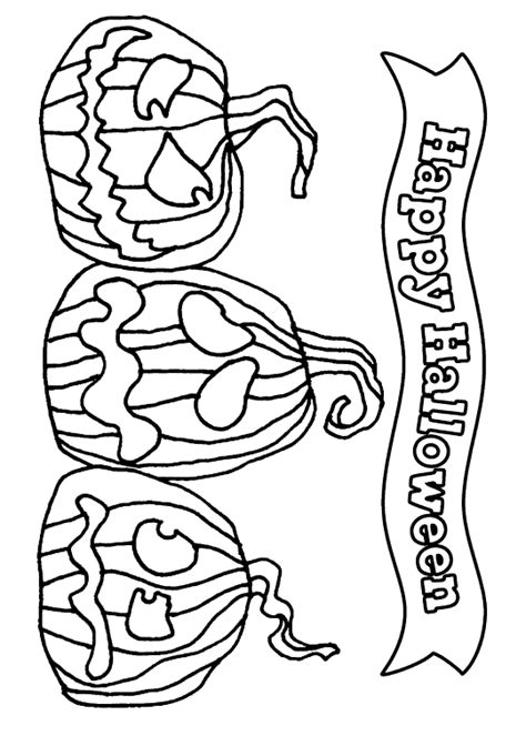printable halloween coloring pages happy halloween