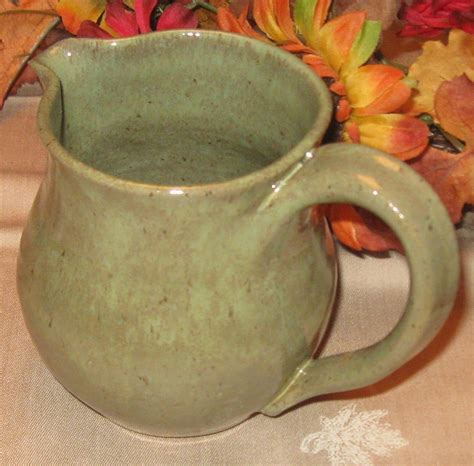 Handmade Pottery For Sale - cyber monday sale gabriella pitcher handmade pottery by the