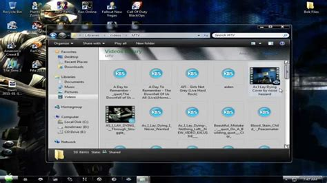 best themes for windows 7 youtube the best windows 7 gaming themes youtube