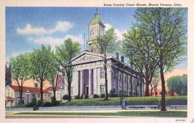 Meigs County Court Records County Courthouse In The County Seat Of Mt Vernon