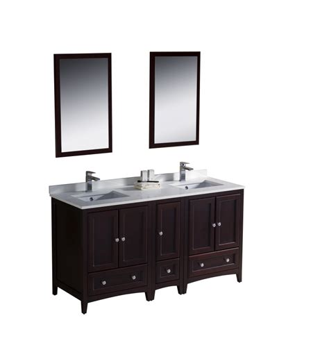 60 in bathroom vanity 60 inch sink bathroom vanity in mahogany