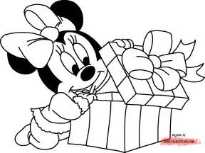 disney baby minnie coloring pages images