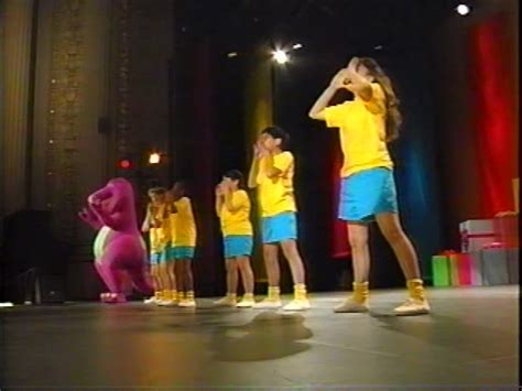 barney backyard gang concert we are barney and the backyard gang barney wiki