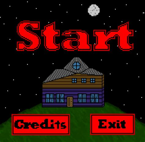 game design where to start wip haunted house start screen video game by running