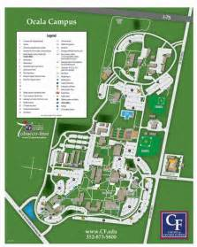 college of central florida map ocala cus map