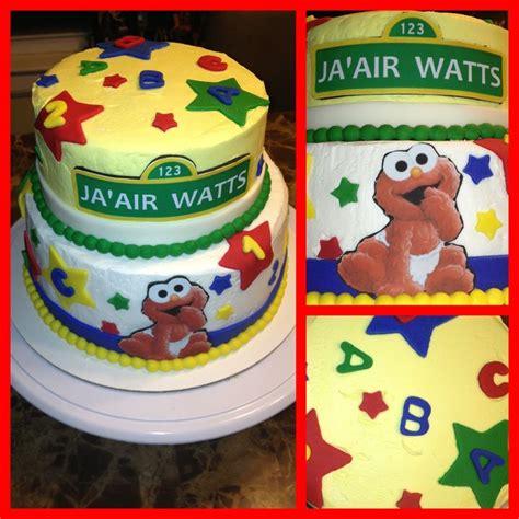 Elmo Baby Shower by Elmo Baby Shower Cake Nikkicakes