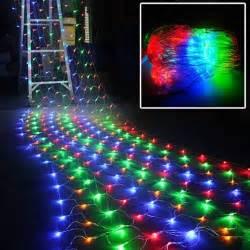 300 led multi color net mesh fairy string light christmas