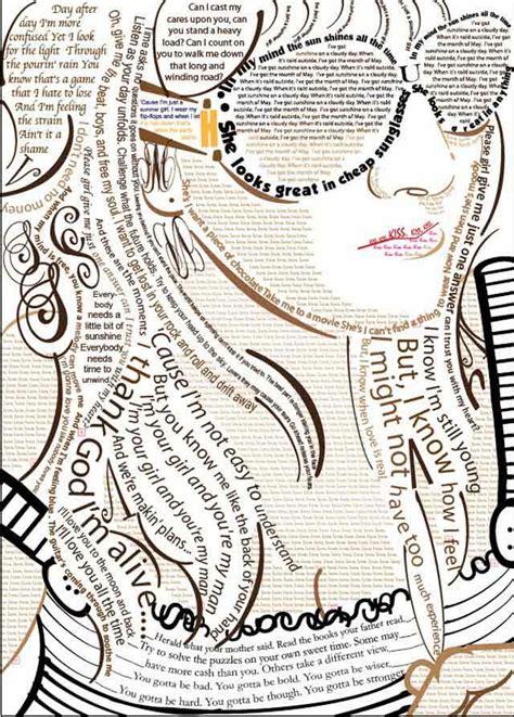 typography self portrait 50 creative typographic portraits speckyboy web design