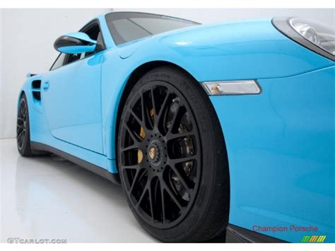 2010 light blue paint to sle porsche 911 turbo coupe 28659195 photo 9 gtcarlot car