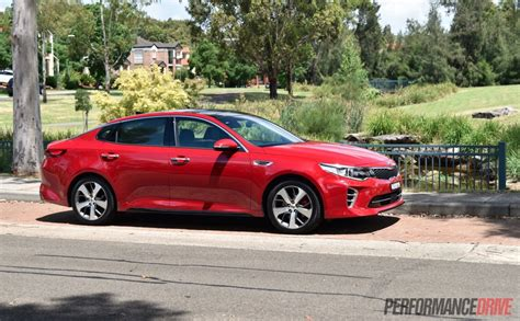 Kia Optima Turbo Performance 2016 Kia Optima Gt Turbo Review Performancedrive