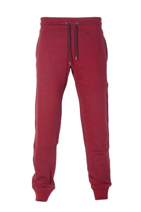 Baju Azia Jogger Pant Aj armani bottoms in burgundy black grey and navy blue 06p84rn clothing from