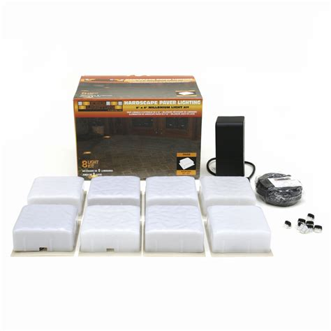 Landscape Light Kit Shop Kerr Lighting 8 Light Low Voltage Path Lights Landscape Light Kit At Lowes