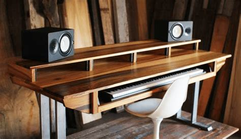 recording studio computer desk diy studio desk plans custom fit for your needs ledger