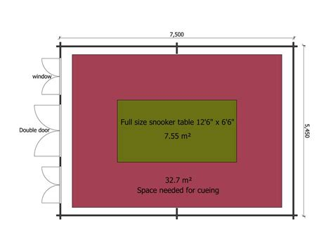 snooker room dimensions the size log cabin for a size snooker table keops interlock log cabins