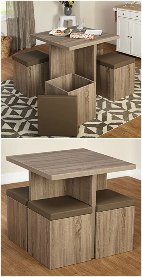 Ottoman Dining Table Twenty Dining Tables That Work Great In Small Spaces Living In A Shoebox