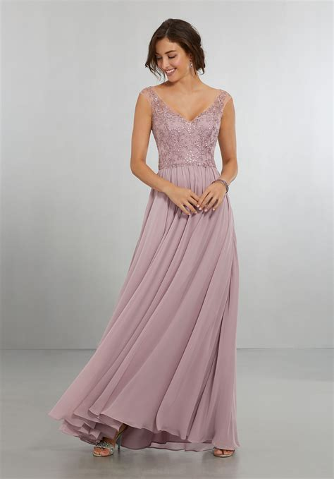 And Bridesmaid Dresses by Bridesmaid Dresses By Mori Style 21558 Chiffon Dress