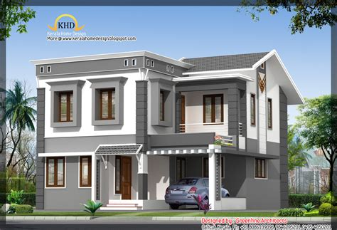 villa home plans september 2011 kerala home design and floor plans