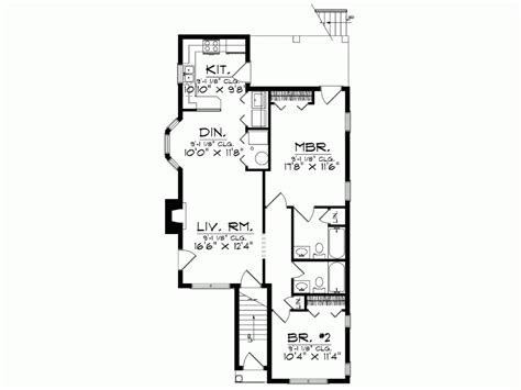 narrow lot colonial house plans eplans colonial house plan narrow lot duplex 2146