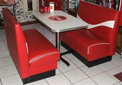 Co Ke Furniture by Coca Cola Diner Table Booth Set Cola Stuff Usa