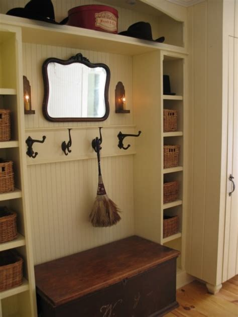 Laundry Room Entryway by Mudroom Idea Reusing A Sturdy Antique Chest As The