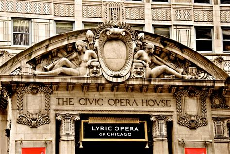 chicago opera house chicago s civic opera building for sale could fetch 210