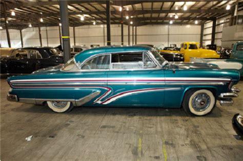 Classic Interior 1955 Lincoln Capri