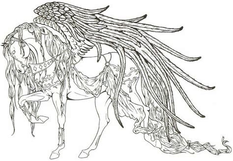 pegasus coloring pinterest pegasus  art