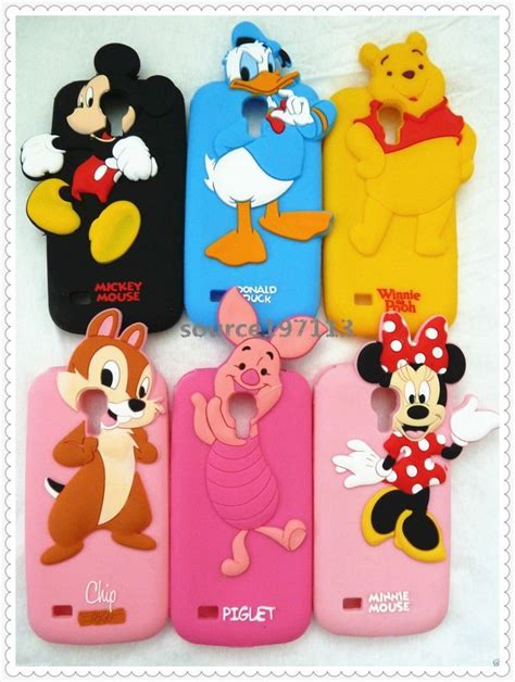 disney 3d silicone soft cover for