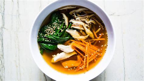 kombu chicken soup  carrots  mushrooms recipe bon