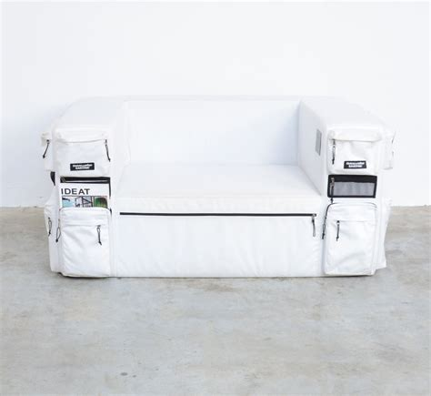 eastpack sofa built to resist club sofa by quinze milan for eastpak