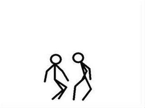 z figure fight two stick figures fight part 1
