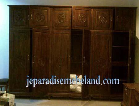 Lemari Pakaian Jati Di Palembang lemari pakaian 6 pintu kayu jati pesanan ibu moethy
