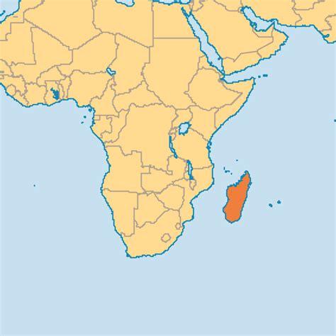 where is madagascar on a world map madagascar operation world