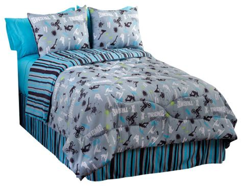 Motocross Bedding Sets Sports Comforter Set Motocross 4 Bedding Contemporary Bedding By