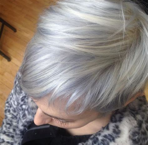 Silver Blonde Color Hair Toner | kenra color silver metallics tones 7sm 8sm and 10sm on