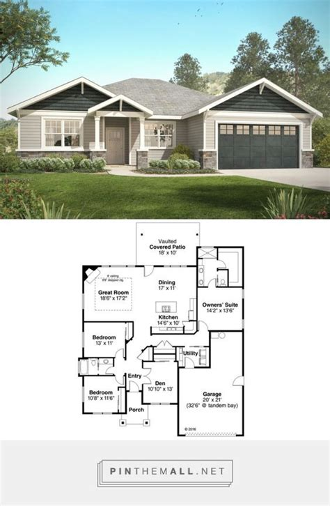 craftsman home floor plans best 25 craftsman ranch ideas on ranch floor