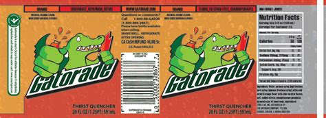 printable gatorade label gatorade label by scottdaniliuk on deviantart