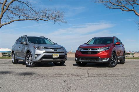 Toyota Or Honda by To Comparison Test 2017 Honda Cr V Vs 2017