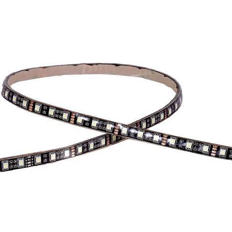 maxxima 36 led 24 quot adhesive strip light red mls 2436r