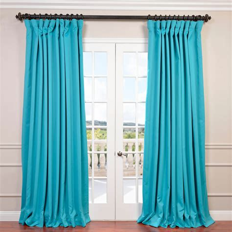 best place to buy blackout curtains half price drapes turquoise blue doublewide blackout