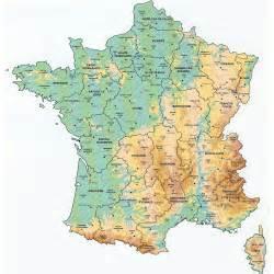 maps of bonjourlafrance