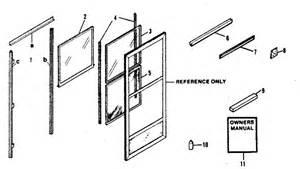 screen door replacement parts door replacement of each part with diagram picture
