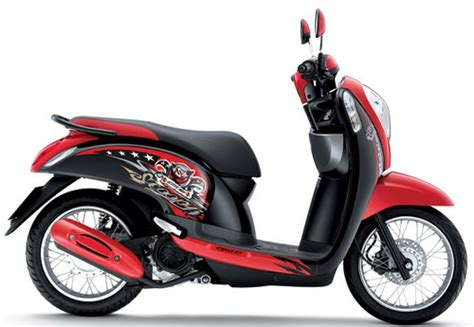 Helm Scoopy Detail 10 Warna Honda Scoopy I Helm In Thailand Mercon