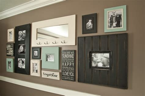 wall picture collage ideen 15 ideas about display family photos on the walls freshnist