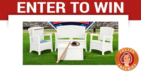 enter to win outdoor patio furniture julie s freebies